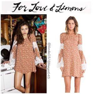 For Love & Lemons Festival Dress Country floral M